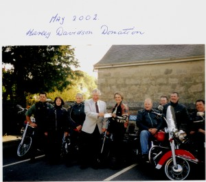 1 May 2002 Harley Davidson Donation
