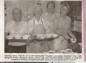 12 Strawberry Fayre Helping Hands July 2003