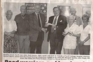 6 John Reid Bowling Donation