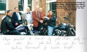 7a Harley Davidson Cheque