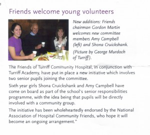 Friends Young Volunteers Friends Connect Mag Winter 2004 20052004