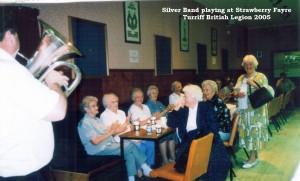 4 Silver Band at Fayre 2005
