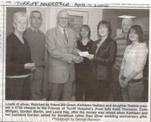 Silver Wedding Donation April 2006