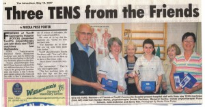 TENS Machines May 2007