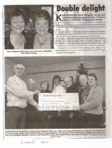 14 Twins donation Dec 2009