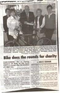 11 Fund raising bike