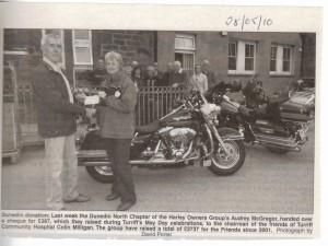 4 Bikers Donation May 2010