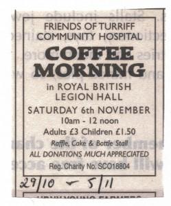 9 Coffee Morning Nov 2010