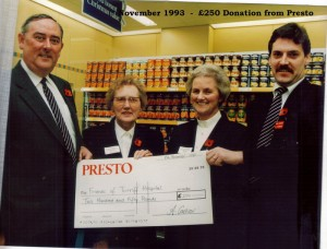 Archive 1997-99  27 Nov 1993 Presto Donation