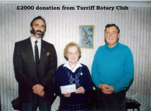 Archive 1997-99  28 Rotary Club Donation