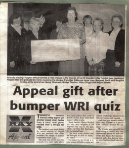 Archive 1997-99  28 WRI QUIZ Donation