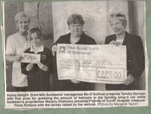 Archive 1997-99  30 Sunbeams Donation