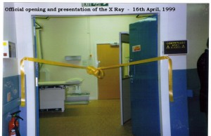 Archive 1997-99  33 X Ray Official Opening