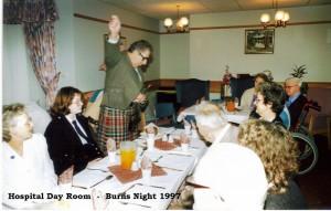 Archive 1997-99  3 Burns Night 1997