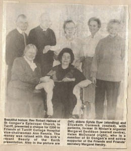 Archive 1997-99  45 St Congans Donation