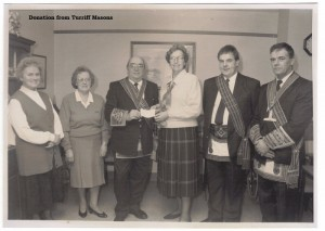 Archive 1997-99  49 Donation from Turriff Masons