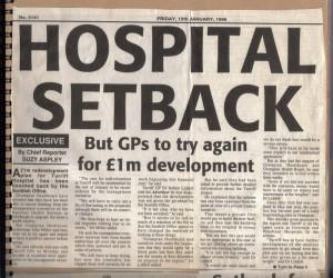 Archive 1997-99  4a Hospital Setback